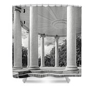 Popp's Bandstand_new Orleans City Park Shower Curtain