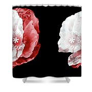 Poppy Confusion Shower Curtain