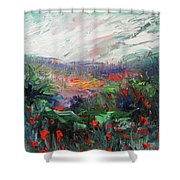 Poppy Dream Shower Curtain