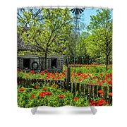 Poppy Farm Shower Curtain