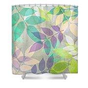 Poppy Shimmer IIi  Shower Curtain