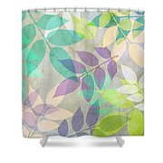 Poppy Shimmer IIi  Shower Curtain