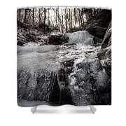 Popsicle Toes Shower Curtain