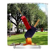 Popsicles In The Park 000 Shower Curtain
