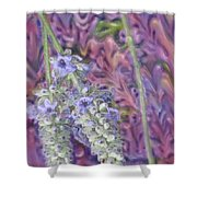 Porcelain Garden Shower Curtain
