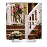 Porch - Garwood Nj - Suburban Paradise Shower Curtain