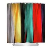 Porch Clothes Line Shower Curtain