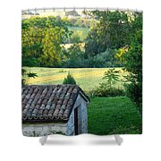 Porco Vecchio Fienile Shower Curtain