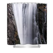 Porcupine Falls Closeup Shower Curtain