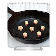 Pork For Dinner Shower Curtain
