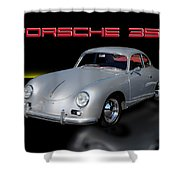 Porsche 356 Shower Curtain