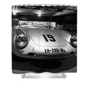 Porsche 550a Rs Shower Curtain