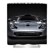Porsche 911 Evolution Shower Curtain