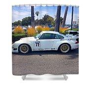 Porsche 911 Gt2 Shower Curtain