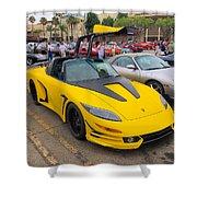 Porsche 911 Targa Gullwing Shower Curtain