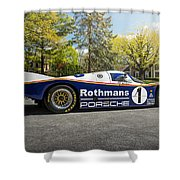 Porsche 962c Shower Curtain
