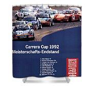 Porsche Carrera Cup 1992 Shower Curtain