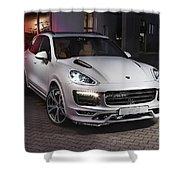 Porsche Cayenne Shower Curtain