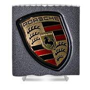 Porsche Shower Curtain by Gordon Dean II