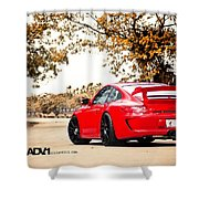 Porsche Gt3 Centerlock Adv1 3  Shower Curtain