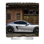 Porsche Need For Speed Shower Curtain
