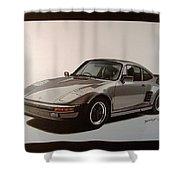 Porsche Shower Curtain