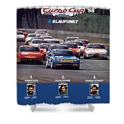 Porsche Turbo Cup 1988 Shower Curtain