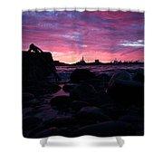 Port Angeles Harbor Eleven Shower Curtain