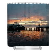 Port Angeles Sunrise Shower Curtain