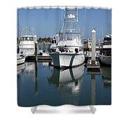 Port Canaveral Floirda Usa Shower Curtain