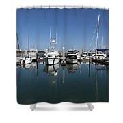 Port Canaveral Florida Usa Shower Curtain