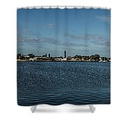 Port Charlotte Beeney Water Way From Beeney Shower Curtain