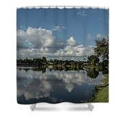 Port Charlotte Niagara Water Way From Olean Shower Curtain
