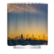 Port Credit 4 Shower Curtain