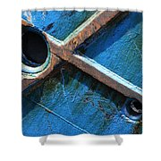 Port Cross Shower Curtain