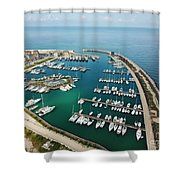 Port Di Pisa Shower Curtain