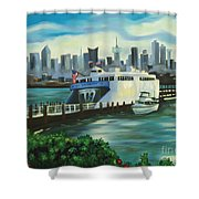 Port Imperial Shower Curtain