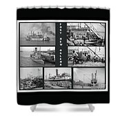 Port New Orleans Shower Curtain