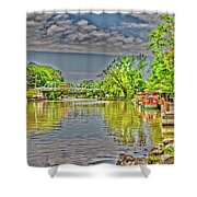 Port Of Pittsford, Ny Shower Curtain