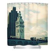 Port Of San Francisco Shower Curtain
