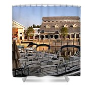Port Orleans Riverside II Shower Curtain