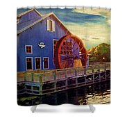 Port Orleans Riverside Shower Curtain