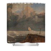 Port Ruysdael Shower Curtain