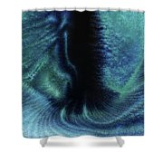 Portal Between Worlds Shower Curtain