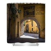 Portal De Valldigna In El Carmen Shower Curtain