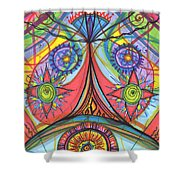 Portal Of Desire Shower Curtain
