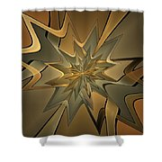 Portal Of Stars Shower Curtain