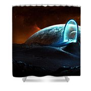 Portal Shower Curtain