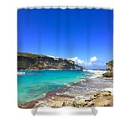 Porte D Enfer, Guadeloupe Shower Curtain