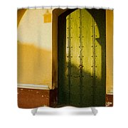 Porte Verte Shower Curtain